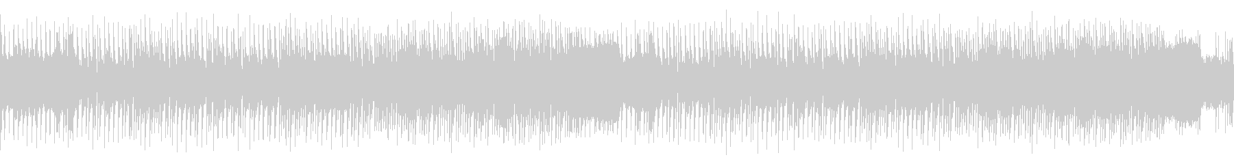 ループ・レトロゲーム風クールな感じの曲の未再生の波形