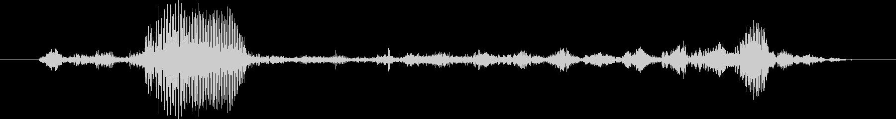 ヤギ Baaingヤギ01の未再生の波形