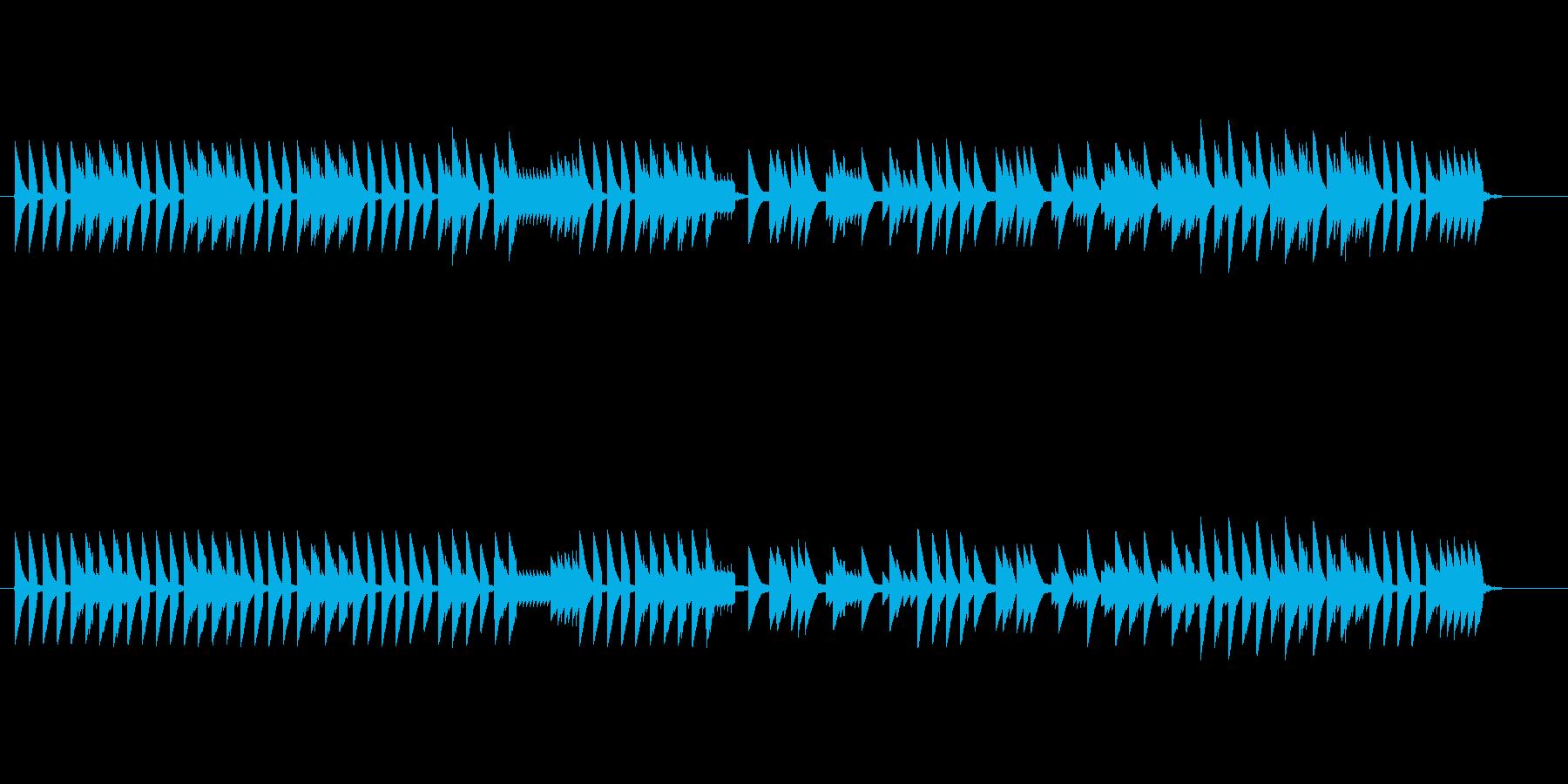 8bitクラシック テュイルリーの庭の再生済みの波形
