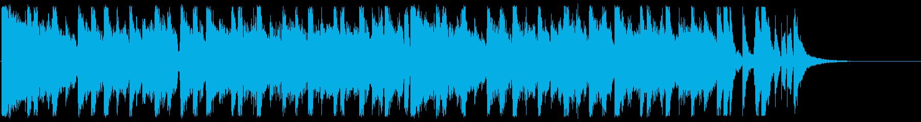 おしゃれ/J-pop_No590_4の再生済みの波形