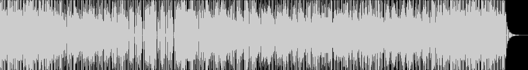 90年代/70年代風のソウルフルなビートの未再生の波形