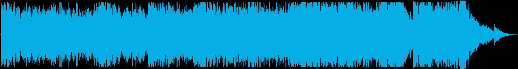 地下で何か蠢いてそうなオープニングBGMの再生済みの波形