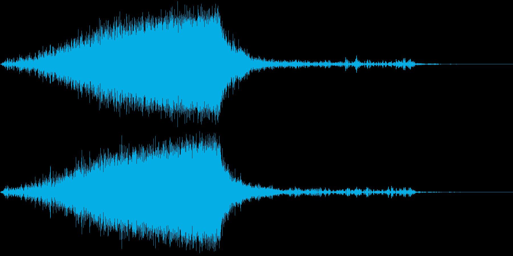 【ノイズ】ヒュイーン・・・・の再生済みの波形