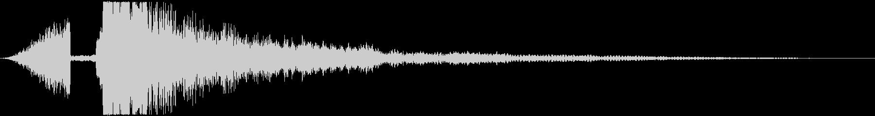 【映画】 シネマティックスマッシュヒットの未再生の波形