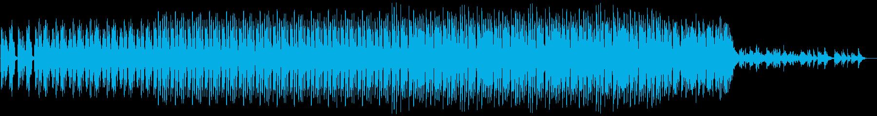 ミステリアスなアンビエントテクノの再生済みの波形