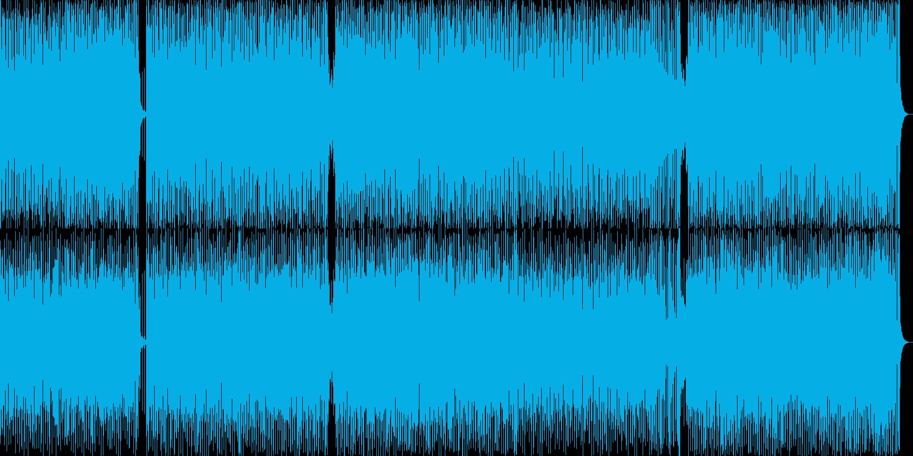 広告音楽。テクノワールド。ループと...の再生済みの波形