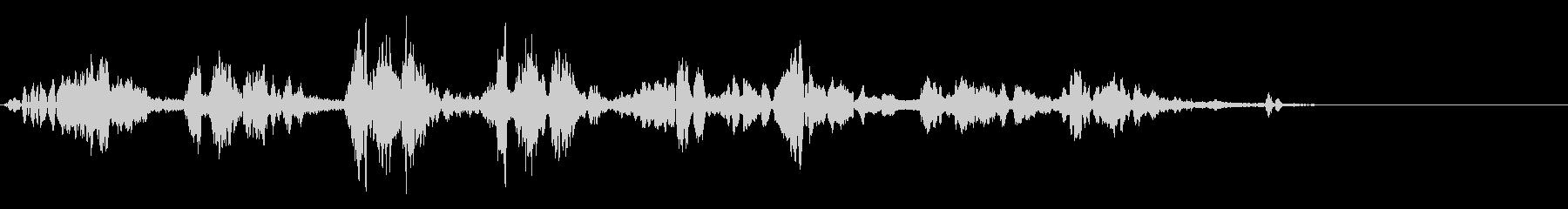 KANT 鳥のロボット声効果音2の未再生の波形