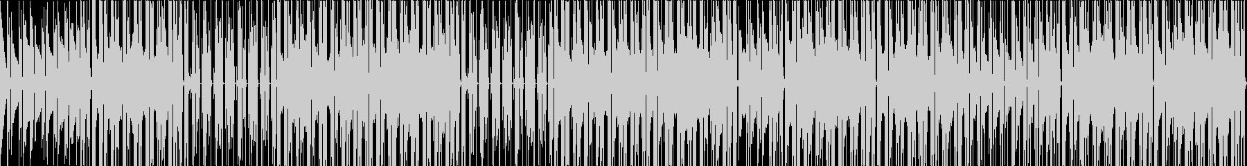 切ない系シティーポップの未再生の波形
