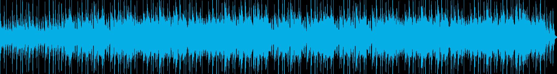 ケルト風の勇ましいファンタジーBGMの再生済みの波形