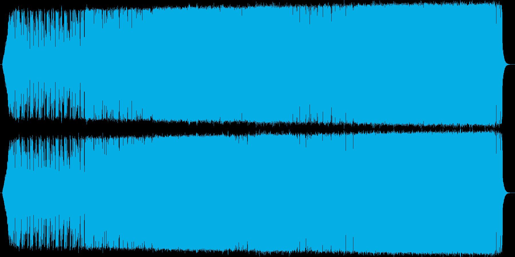 男性ボーカルのメロ系ロック(シンセ有り)の再生済みの波形