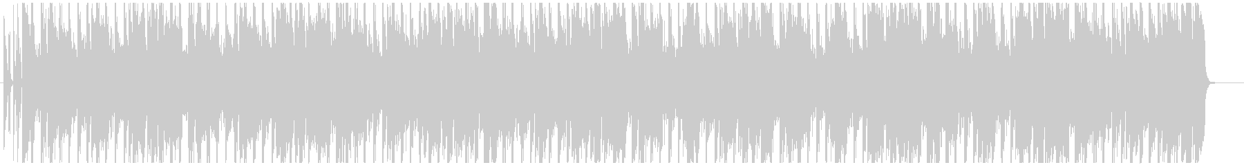 Four-on-the-floor city pop with a fashionable atmosphere's unreproduced waveform