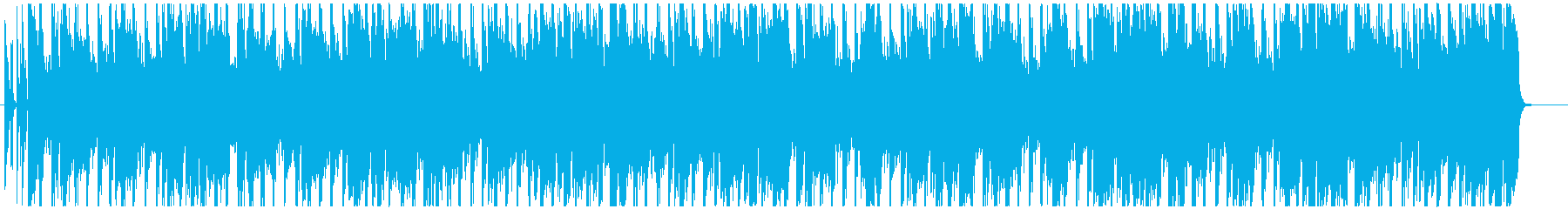 Four-on-the-floor city pop with a fashionable atmosphere's reproduced waveform