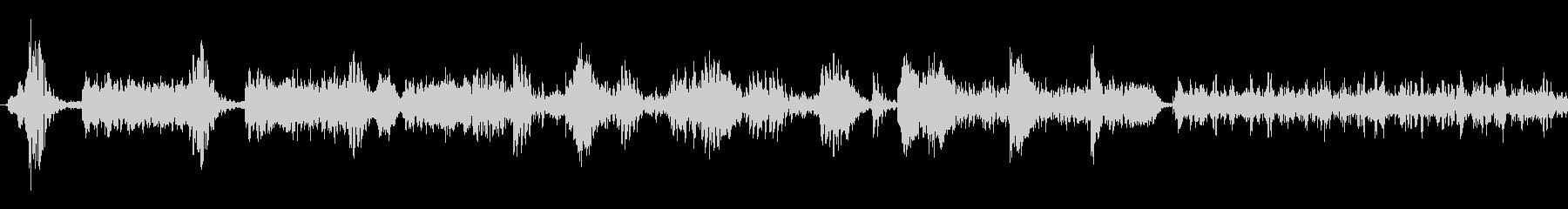 ラジオスキャン7の未再生の波形