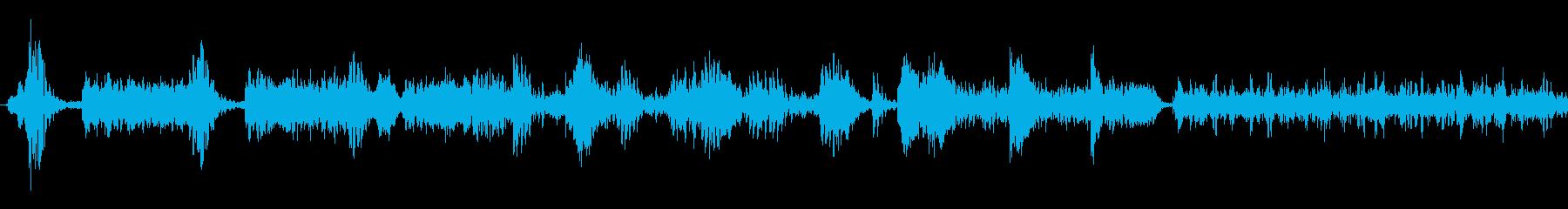 ラジオスキャン7の再生済みの波形