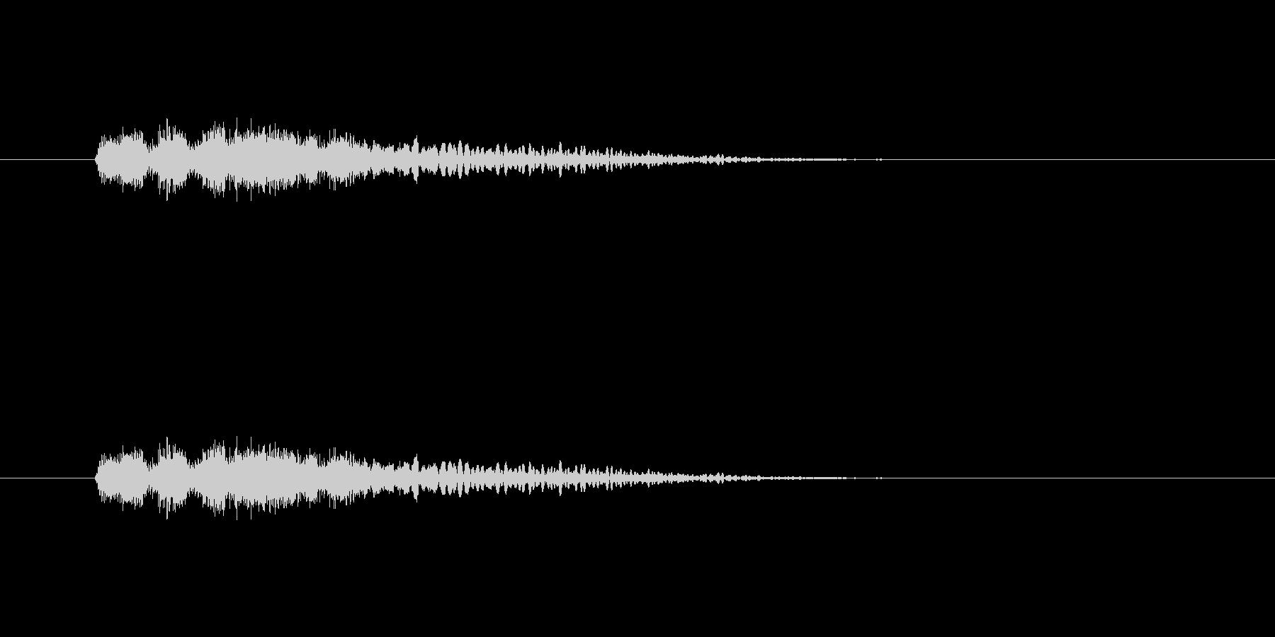 【ポップモーション43-2】の未再生の波形