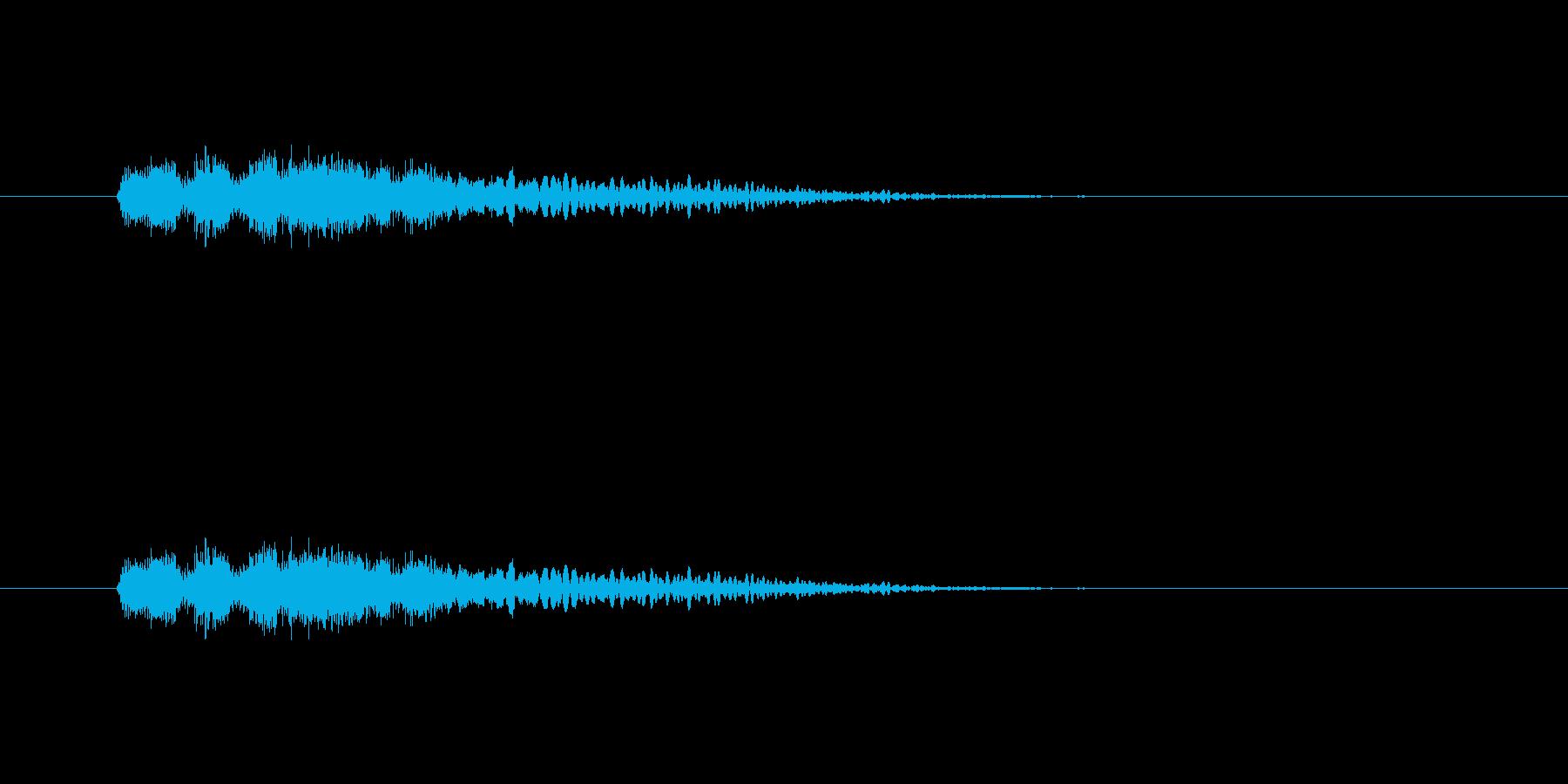 【ポップモーション43-2】の再生済みの波形