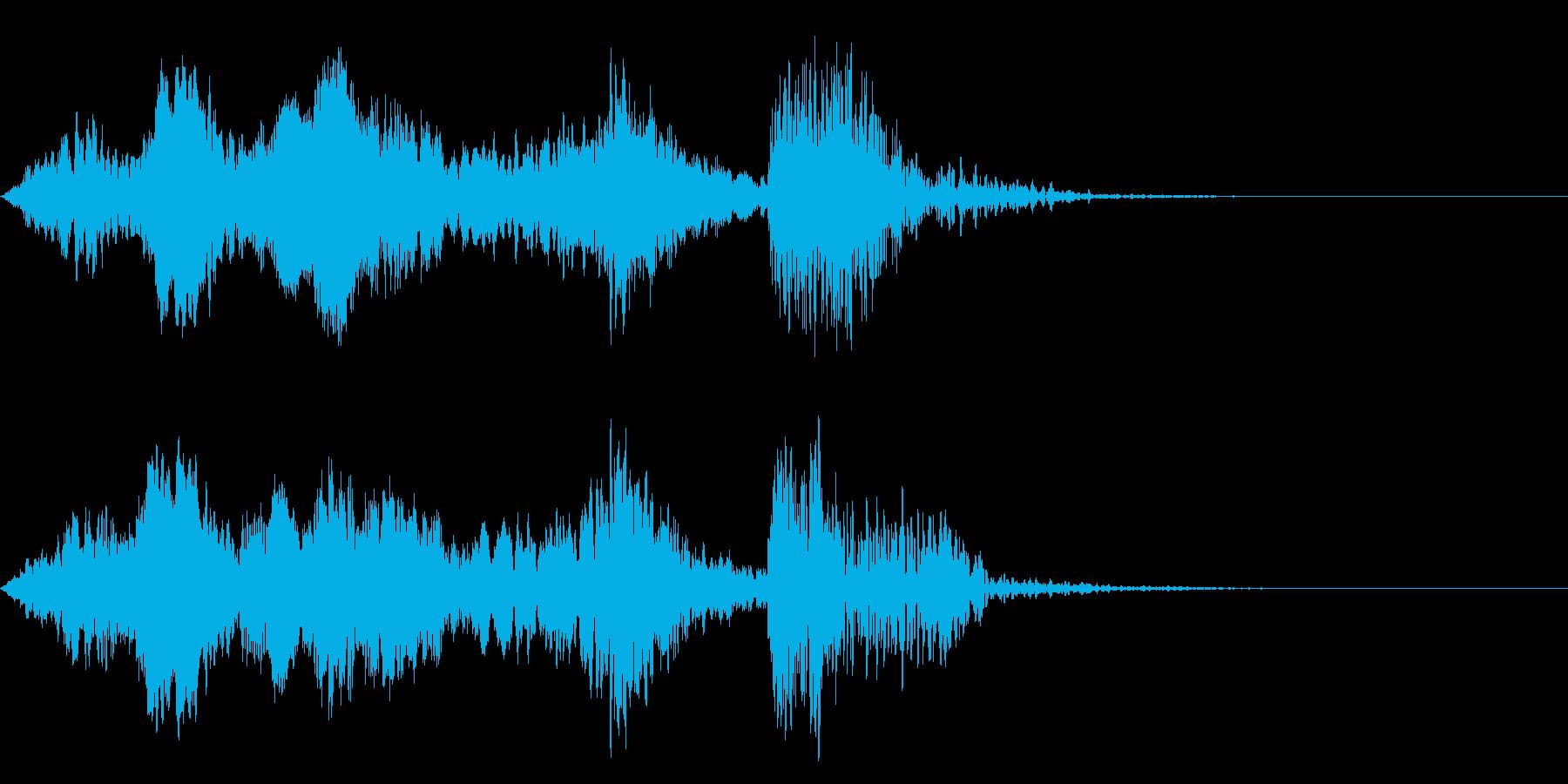 よお〜ドン!/太鼓/歌舞伎のジングル!8の再生済みの波形
