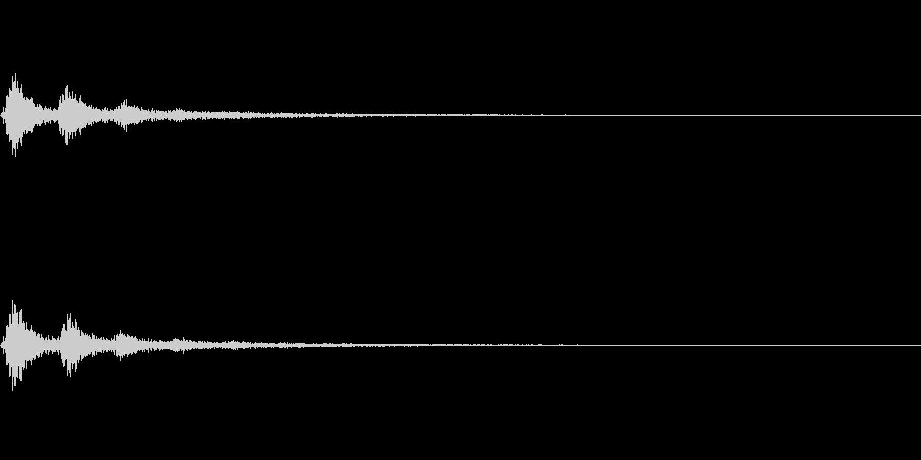TVFX 風切り音 PR 目立たせSE2の未再生の波形