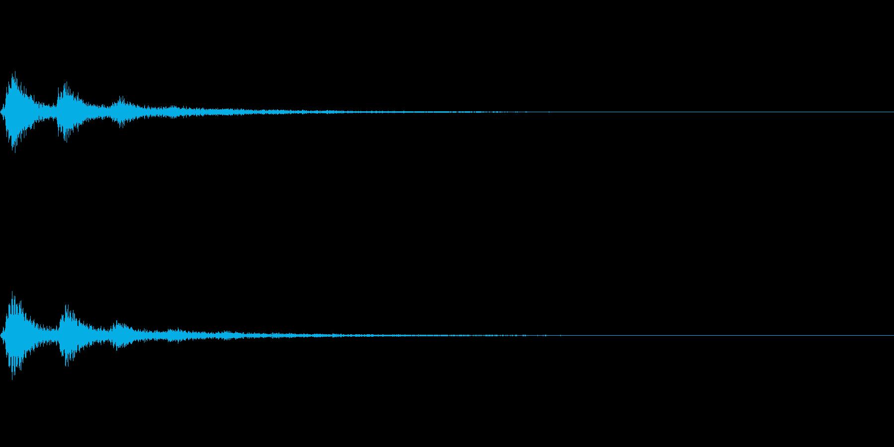 TVFX 風切り音 PR 目立たせSE2の再生済みの波形