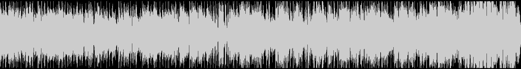 ランチタイムのカフェ的ボサノバ※ループ版の未再生の波形