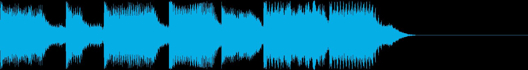 AI メカ/ロボ/マシン動作音 28の再生済みの波形