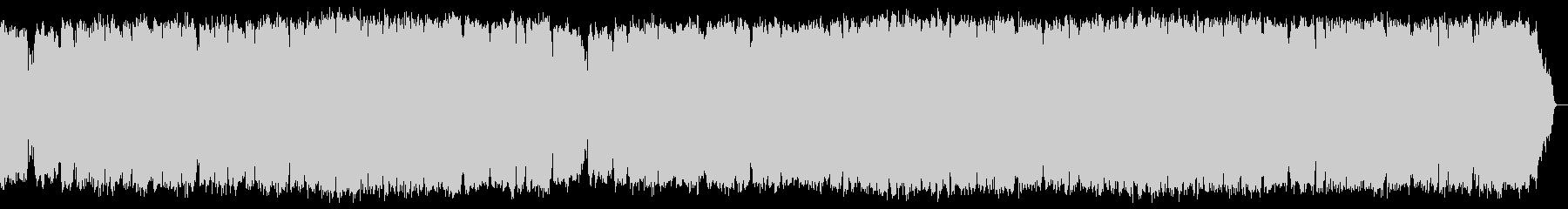 切ないサックスの旋律とピアノのアルペジオの未再生の波形