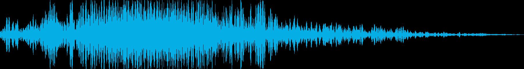 振る/スイング/空を斬る(ヒュン、ブォンの再生済みの波形