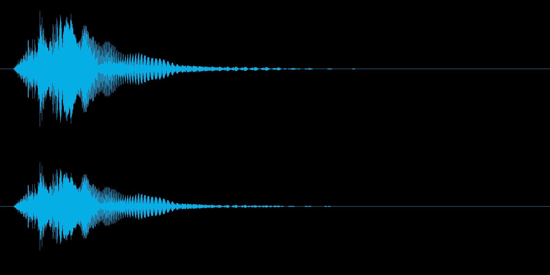 ピチュン(消滅/画面を消す/電源OFF)の再生済みの波形