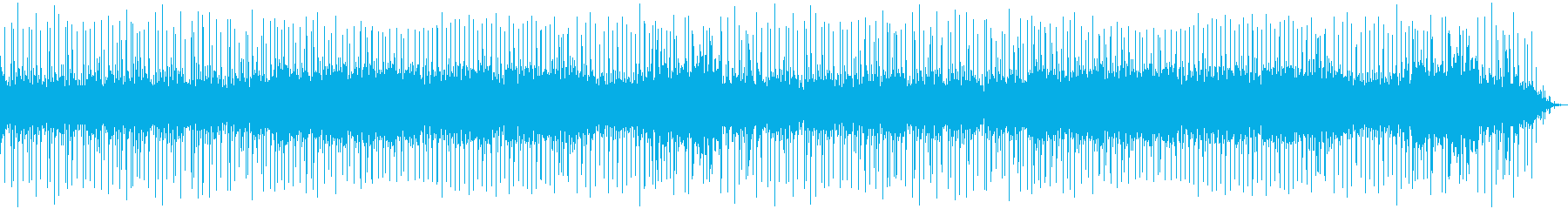 レトロゲーム風BGM(クリア、勝利)の再生済みの波形