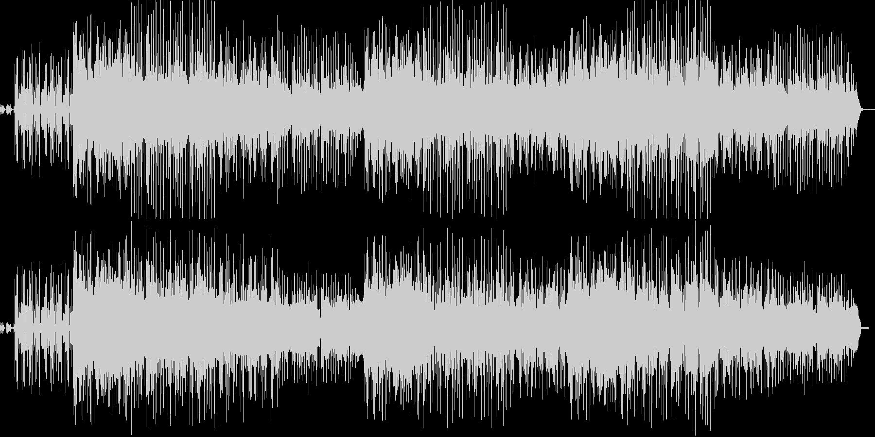 SF音楽の未再生の波形