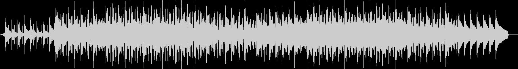 花畑とひまわりのピアノトロピカルハウスの未再生の波形