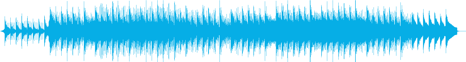 花畑とひまわりのピアノトロピカルハウスの再生済みの波形