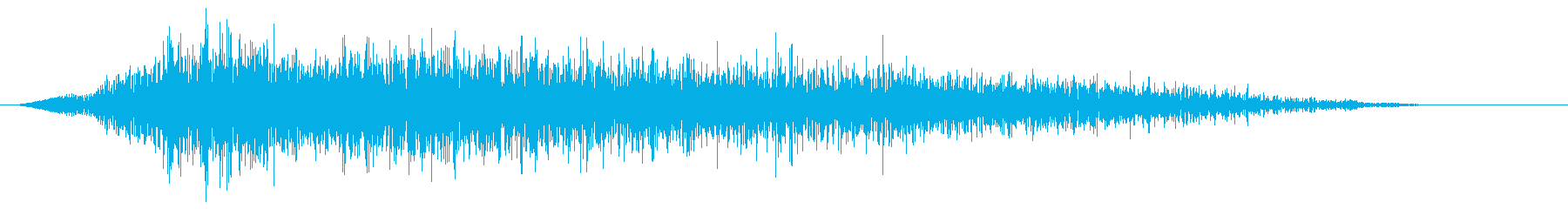 いえーい!元気な女性の声(複数)の再生済みの波形