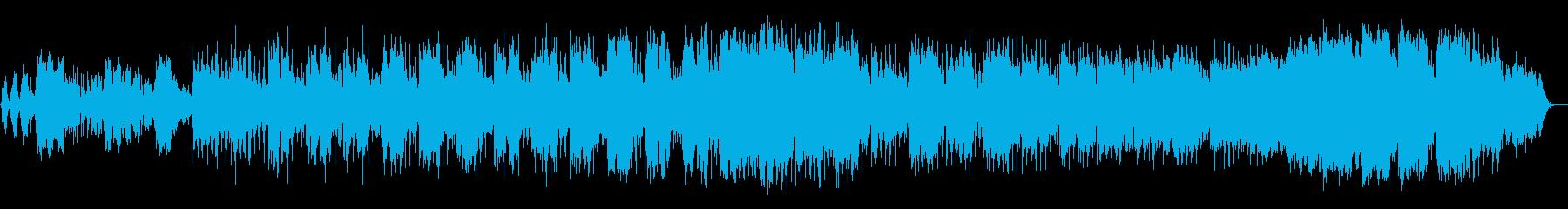 映像にぴったりのアラブ音楽の再生済みの波形