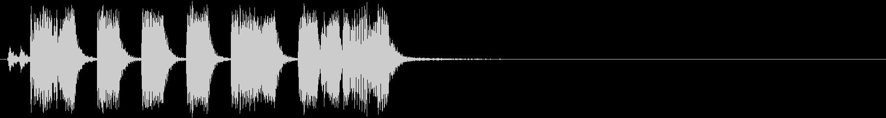 トランペット_アイキャッチ_場面転換の未再生の波形