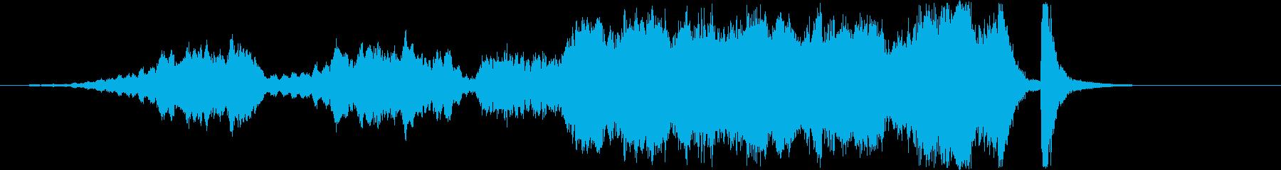 禿山の一夜/ムソルグスキー 冒頭部分の再生済みの波形