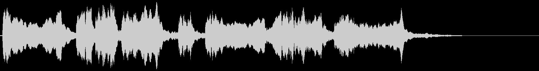 怪しいエスニックなバイオリンのフレーズ2の未再生の波形