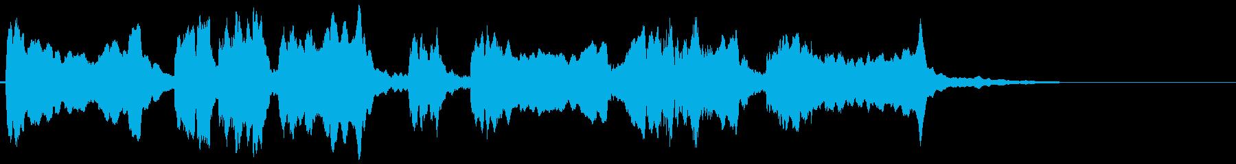 怪しいエスニックなバイオリンのフレーズ2の再生済みの波形