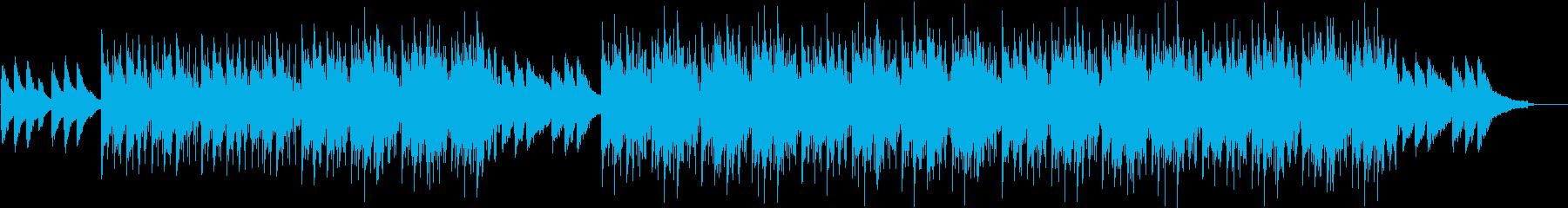 寂しく切ないチルアウトの再生済みの波形