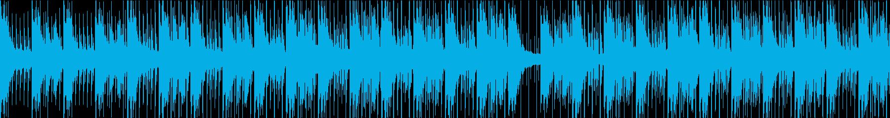 ニュース番組・インダストリー・ハウスの再生済みの波形