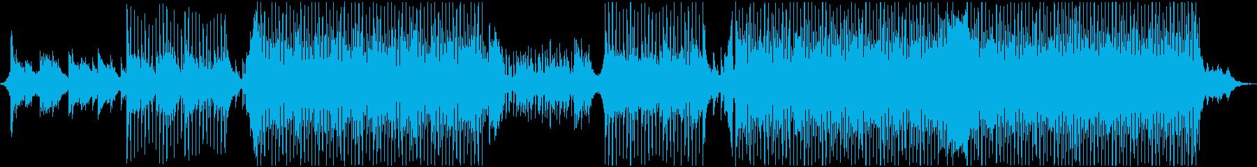 爽やかな夏の森のようなピアノのメロディの再生済みの波形