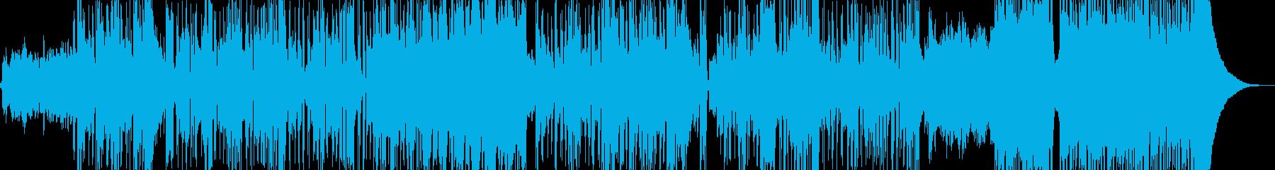 新鮮な空気感の演出・クールなビート Aの再生済みの波形