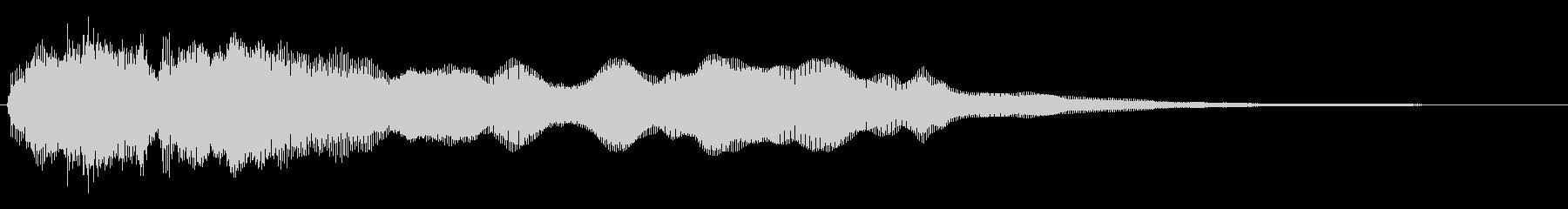 トッカータ風ジングル 04の未再生の波形