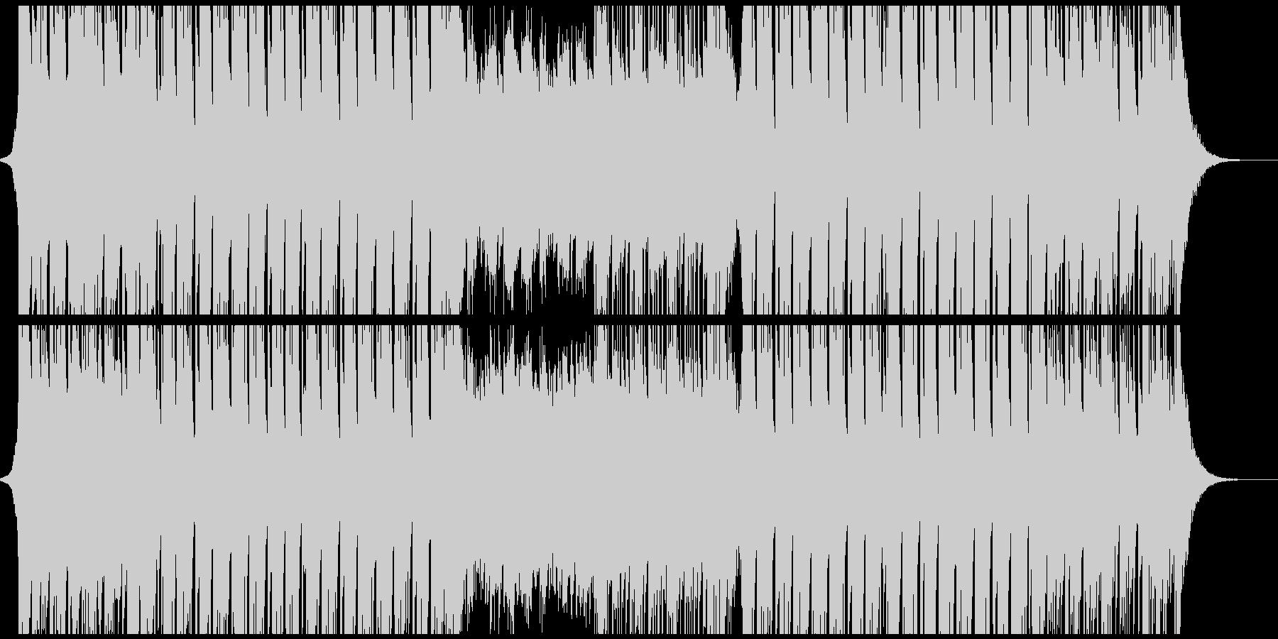 広がりのあるスタイリッシュなEDMの未再生の波形