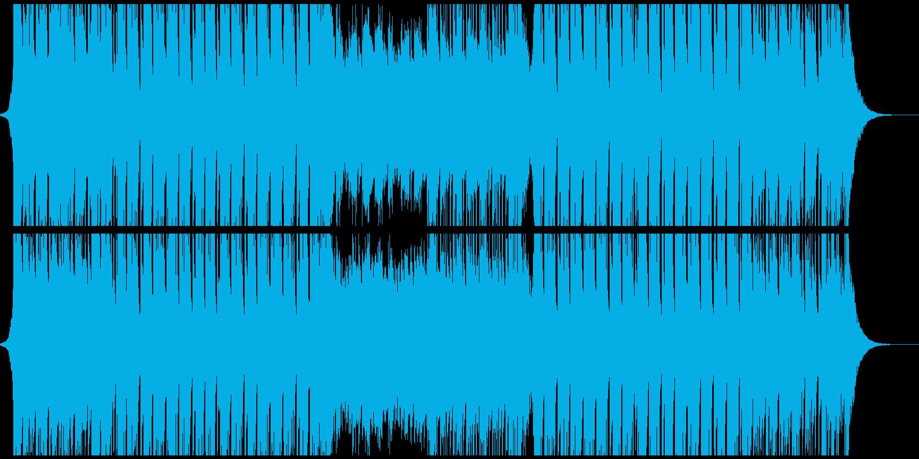 広がりのあるスタイリッシュなEDMの再生済みの波形