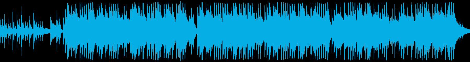 涙と感動の箏のメロディー 和風 ループの再生済みの波形