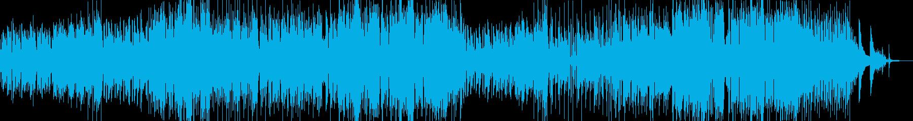 木管のメルヘンチックなスィングワルツの再生済みの波形