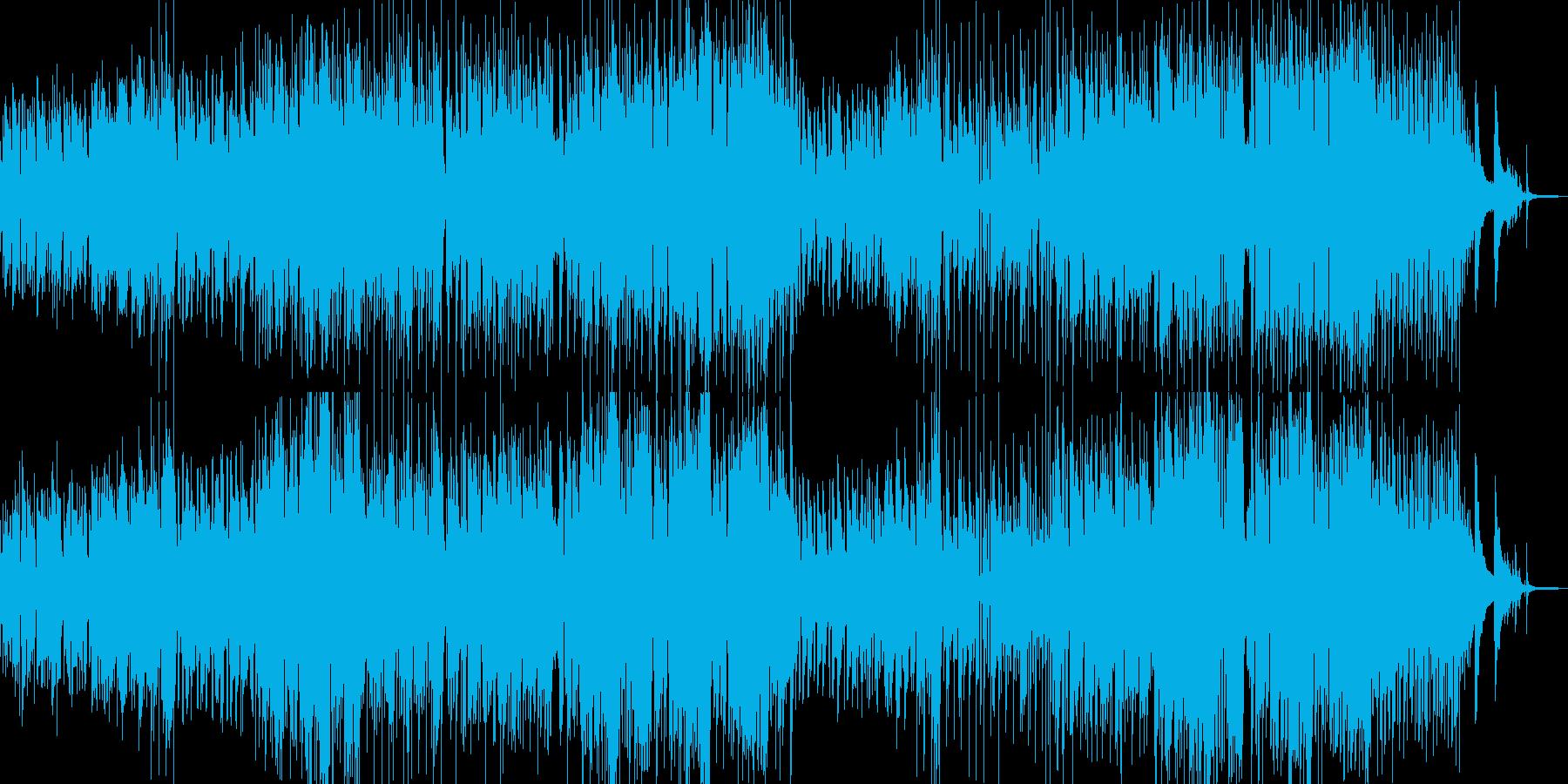 絵本・メルヘンな雰囲気の可愛いワルツの再生済みの波形