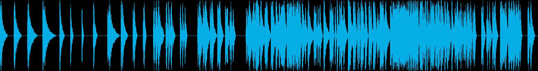 レーザーの戦いは長い複数のアーケー...の再生済みの波形