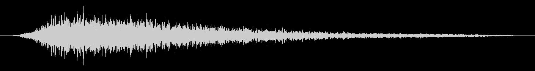 素材 エアブレスリリース01の未再生の波形